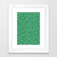 Pixel Art 5 Framed Art Print
