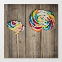 Life Of A Lollipop Canvas Print