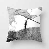 Dream Of Flight Throw Pillow
