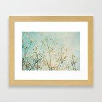 White Dogwood Tree Sprin… Framed Art Print