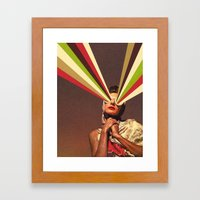 Rayguns Framed Art Print