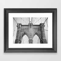To Manhattan, With Love Framed Art Print