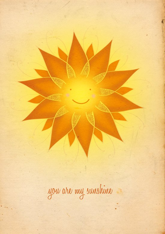You are my sunshine... Art Print