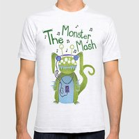 The Monster Mash Mens Fitted Tee Ash Grey SMALL