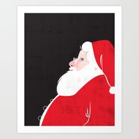 Christmas Be Good Sans C… Art Print