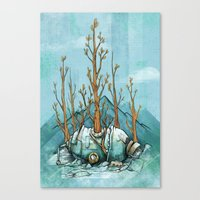 Nature Wins.01 Canvas Print