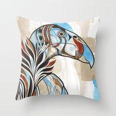 Condor colour Throw Pillow