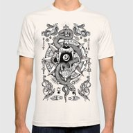Ad Mortumn Mens Fitted Tee Natural SMALL