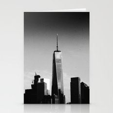 Manhattan Black and White Stationery Cards
