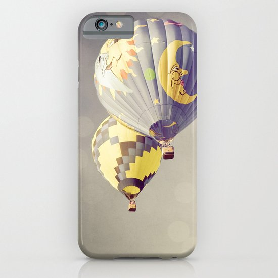 Moon Balloon iPhone & iPod Case