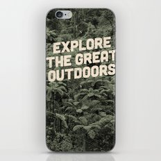 The Explorer iPhone & iPod Skin