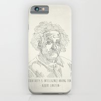 Albert Einstein  iPhone 6 Slim Case