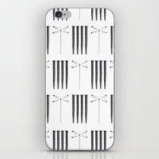 Dagonfly & nails iPhone & iPod Skin