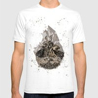 When Nature Strikes Back… Mens Fitted Tee White SMALL