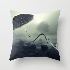 Hope Floats Away Throw Pillow