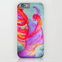 iPhone & iPod Case featuring The Quiet Face by Guillermo de Llera