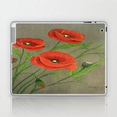 Poppies-3 Laptop & iPad Skin