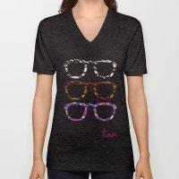 Glasses Unisex V-Neck