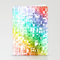 spectrum construct Stationery Cards