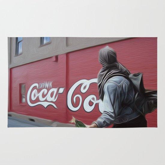 Coca Cola Wars Area & Throw Rug