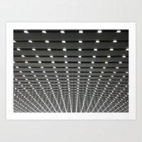Follow all of the Lights Art Print