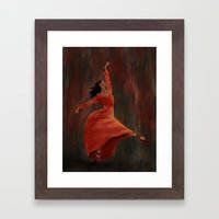 The Autumn Leaf Framed Art Print