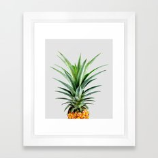 Pineapple V2 #society #b… Framed Art Print