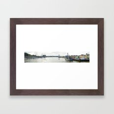 Tall Ships Race Waterford 2011 - Day 1 Panoramic  Framed Art Print