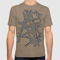 To The Edge #3 Mens Fitted Tee Tri-Coffee SMALL