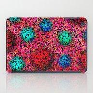Colorful Illusion iPad Case