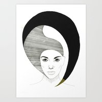 Fashion Illustration 4  Art Print
