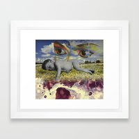 MementoMori 4 Framed Art Print