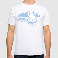Ice Ballet Mens Fitted Tee Ash Grey SMALL