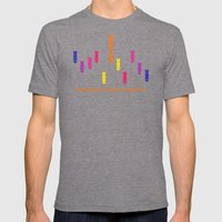 create Mens Fitted Tee Tri-Grey SMALL