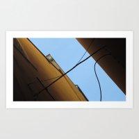 Sail In The Sky Art Print