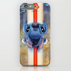 Waiting for the perfect wave...Stitch..^^ iPhone 6 Slim Case