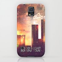 Galaxy S5 Cases featuring Good night Manhattan by HappyMelvin