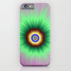 Explosion of Color in Pink and Green iPhone 6 Slim Case