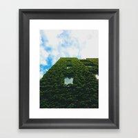 Vine Building Framed Art Print