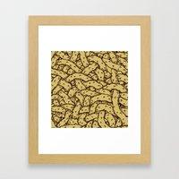 Branches (alternate version) Framed Art Print