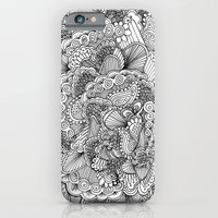 iPhone & iPod Case featuring Doodle Brain by kcdesign
