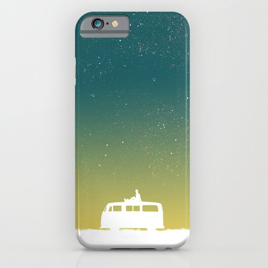 Quiet night and starry sky iPhone & iPod Case