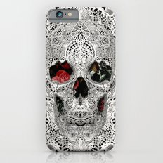 Lace Skull Light iPhone 6s Slim Case