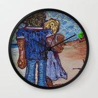 Sunny SoCal Wall Clock