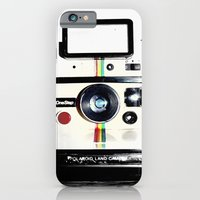 iPhone Cases featuring Shake it like a Polaroid picture by Rachel Landry