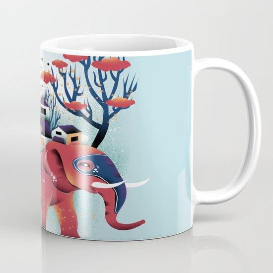 A Colorful Ride Mug