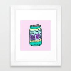 HFTWF Seltzer Framed Art Print