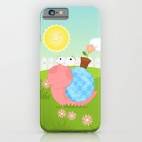 Pink Snail (female) iPhone 6 Slim Case