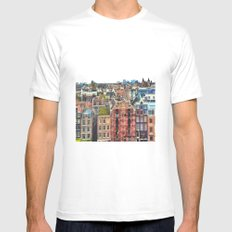 My Amsterdam Mens Fitted Tee White SMALL