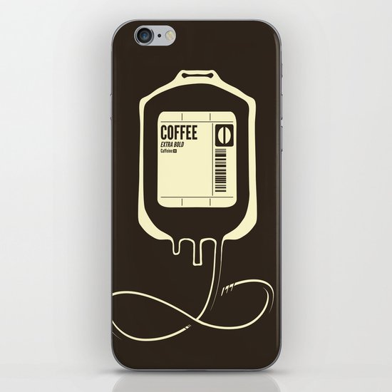 Coffee Transfusion iPhone & iPod Skin